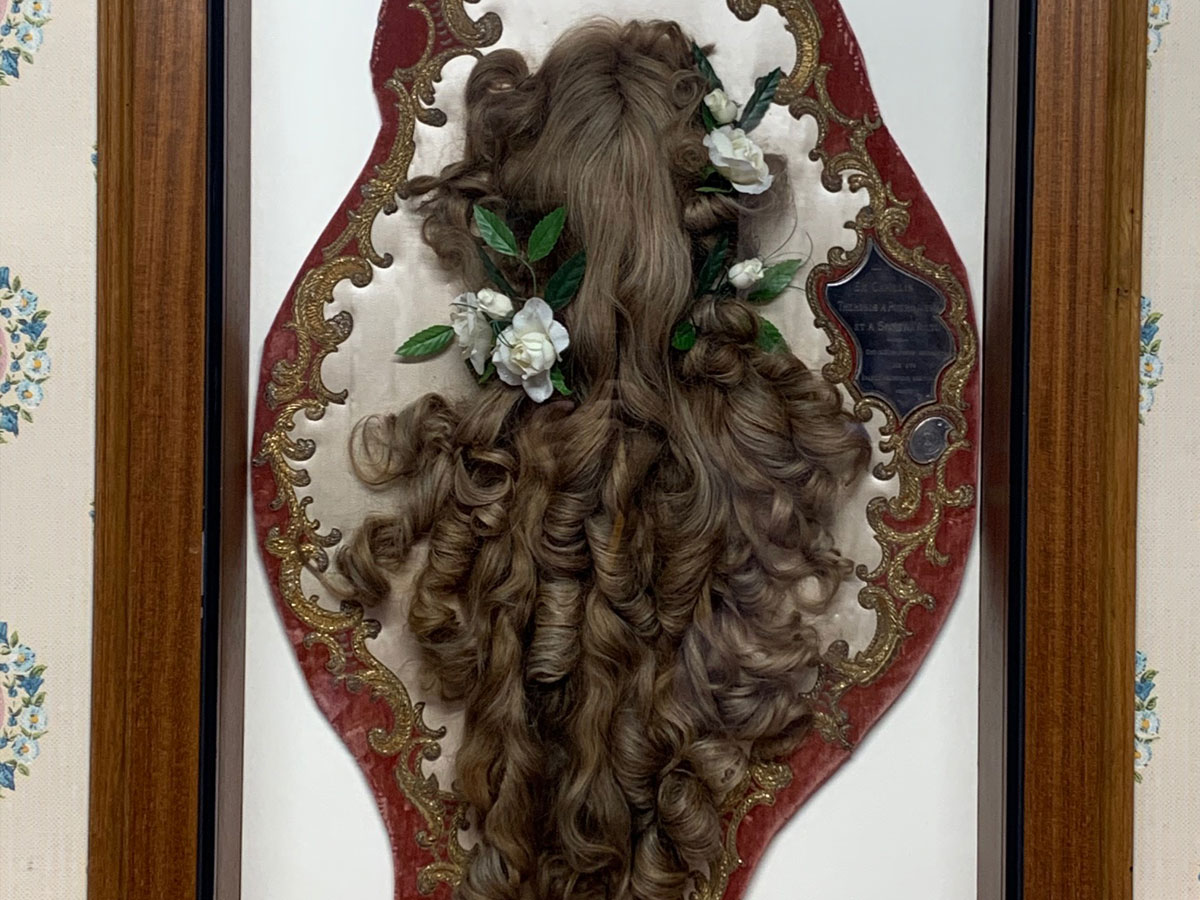 Hair of St Therese