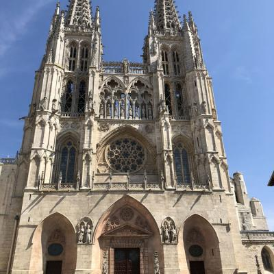 The Cathedral Of Burgos 1